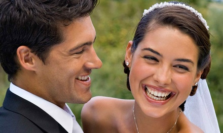 Full-Day Wedding-Photography Package or One-Hour Portrait Shoot from La Vida Design Inc. (Up to 51% Off)
