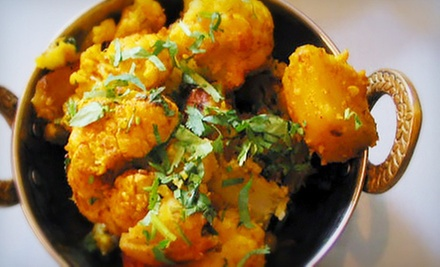 $12 for $25 Worth of Indian and Mediterranean Food at Qazi's Indian Curry House & Mediterranean Cuisine