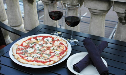 Dinner and Drinks for Two or Four, or Take-Out at Rare Earth Pizza and Wine Bar (Up to 38% Off)