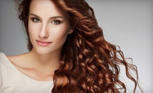 Haircut Package with Optional Partial Highlights or Full Color at Tangled Hair Salon (Up to 51% Off)