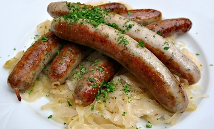 German Lunch, Catering, or Beer Sampler at Helga's German Restaurant and Deli (Up to 50% Off)
