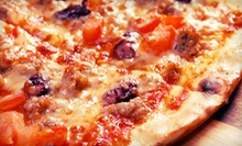 $15 for $30 Worth of Pizza, Pasta, and American Cuisine at Papa Saverios Pizzeria