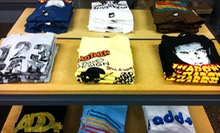 $15 for $30 Worth of Graphic T-shirts, Sneakers, and Skateboarding Accessories at Dave's Wear House 