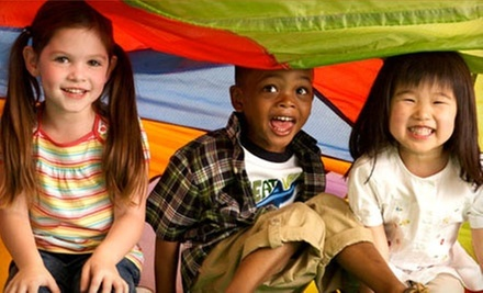 Four Weeks of Unlimited Play and Four Classes or Four Weeks of Play and Classes at Gymboree Play & Music (Up to 77% Off)
