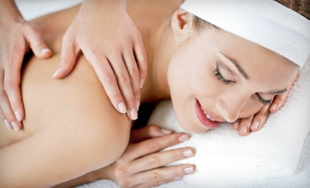 $40 for a 60-Minute Muscle Tension Relief Massage with Wine and Foot Wrap at Indulgence Day and Med Spa ($82.95 Value)