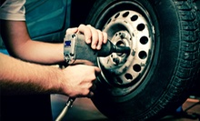Oil-Change Package with Optional Second Oil Change, or Tire-Alignment Package at Caroline Tire Company (Up to 72% Off)