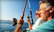 Half- or Full-Day Fluke-Fishing Trip for Up to Four from Bill Chaser Charters (Up to 54% Off)