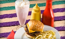 Burger Baskets with Fries and Fried Pickles for Two or Four at Burger Fresh (55% Off)