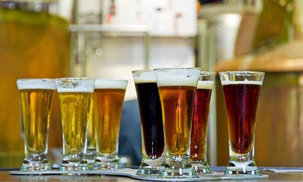 Pints of Beer and Take-Home Bottles for Two or Four from Sleepy Dog Brewery (Up to 40% Off)