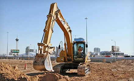 $119 for a 90-Minute Bulldozer or Excavator Big Dig at Dig This ($249 Value)