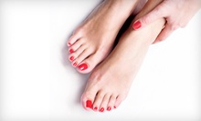 One or Two Glowing Manicures and Ritual Glowing Pedicures at Glowing Day Spa (53% Off)