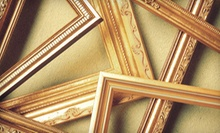 $40 for $120 Toward Custom Framing at Masterpieces Fine Art &amp; Custom Framing