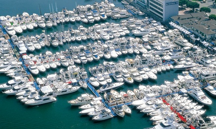 One-Day Admission for Two or Four to the Lido Boat Show on September 18-21 (Up to 53% Off)