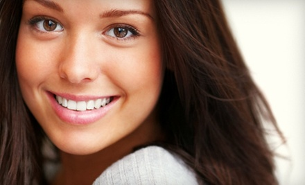 $99 for a Dental Cleaning, X-rays, and iBright Teeth-Whitening Treatment at Half Dental ($450 Value)