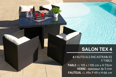 Salon en textilène | Groupon Shopping