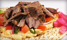 $10 for $20 Worth of Greek Food at Aegean Grill