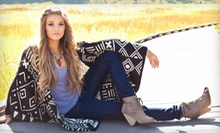 $15 for $35 Worth of Fashionable Apparel and Accessories at Uptown Cheapskate 