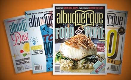 "$14 for a Two-Year Subscription to ""Albuquerque The Magazine"" ($28 Value)"