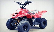 $50 for $100 Toward ATVs, Gear, and Accessories at Best Discount ATVs