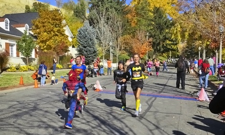 Entry for One, Two, or Four to the Austin Halloween Half Marathon on Saturday, October 25 (Up to 53% Off)