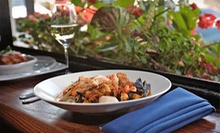 Three-Course Italian Dinner for Two, Four, or Six at Blue Grotto (Up to 53% Off)