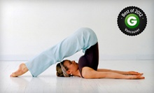 10 or 20 Yoga Classes at Semperviva Yoga (Up to 72% Off)