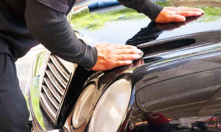 Three Full Service Washes or Five Exterior Drive Thru Washes at Valencia Auto Spa Car Wash (Up to 42% Off)