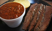 $10 for $20 Worth of Ribs and Barbecue Food at Rockys Rib Shack