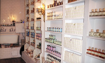 Natural and Organic Bath Products at Soapology (Up to 60% Off). Three Options Available.