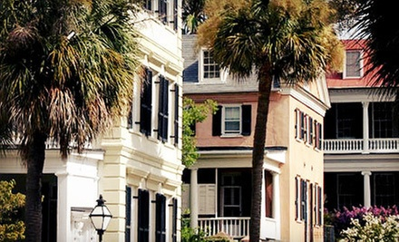 Walking Photo Tour for Two or Four from Charleston History and Photo Tour (Up to 53% Off)