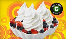 $4 for $8 Worth of Frozen Yogurt at Bad Frog Frozen Yogurt