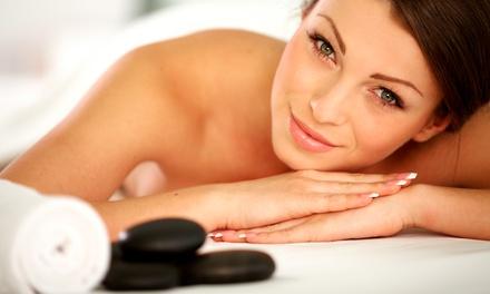 Custom Facial, Massage, or Both at Ra Salon & Spa (Up to 52% Off)
