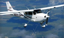 Flight-Simulator Package, Flight-Lesson Package, or Bay Plane Tour for Three from Hayward Flight (Up to 51% Off)