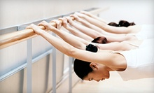 Five Classes or Two Weeks of Unlimited Barre Fit Classes at The Spinning Yogi (Up to 66% Off)