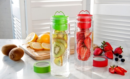 2-Pack of Asobu Flavour It Fruit-Infuser Bottles