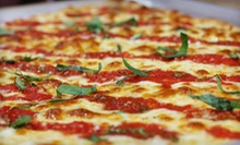 Two or Four Vouchers, Good for One Cheese Pizza Each at Brooklyn Square Pizza (Up to 51% Off)
