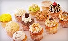 $10 for One Dozen Full-Size Cupcakes and Two Whoopie Pies at PJ's Baby Cakes ($20 Value)