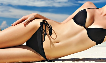 One Month of Tans in a Super or Mega Bed, or One or Three Tans in a High-Pressure Bed at Tanning Zone (Up to 57% Off)