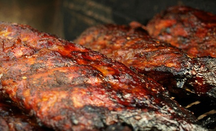 $10 for $20 Worth of Barbecue at Hickory Prime BBQ