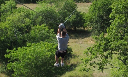 Zipline Tour for One, Two, or Six at Beaumont Ranch in Grandview (Up to 64% Off)