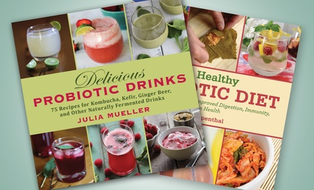 Probiotic Cookbook Bundle with Food and Drink Recipes