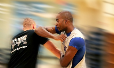 $29 for One Month of Weekly RAW Combat Conditioning Classes at Science of Self-Defense ($60 Value)