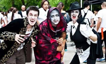 Admission for One or Two to the Vampire 5K on Saturday, October 4  (Up to 51% Off)