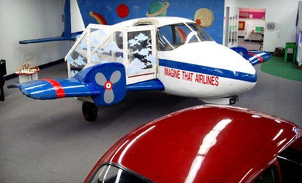 Children's Museum Outing for Two or Four at Imagine That!!! (Up to 55% Off)
