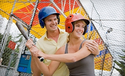 Mini Golf for Four, Batting-Cage Tokens, or Birthday Party for Up to 20 at The Plex (Up to 52% Off)