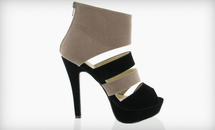 $25 for $50 Worth of Footwear and Handbags at Brida Shoes