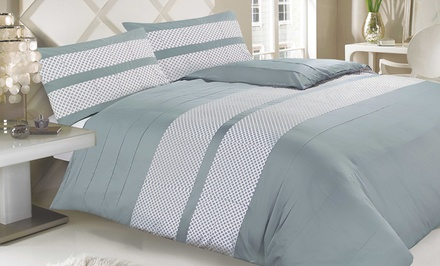 3-Piece 100% Egyptian Cotton Patchwork Duvet Set