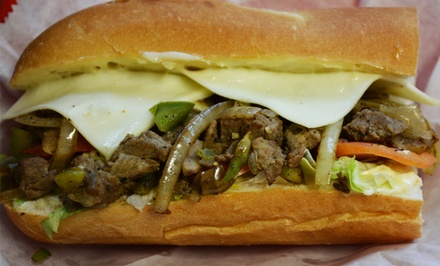 One Combo Meal or 5-Meal Punchcard at Phillyman's Cheesesteak (Up to 44% Off)