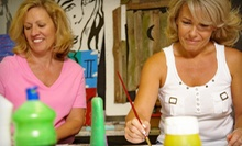 Painting Class for Two, Four, or Six at K.A.S. Gallery (Up to 57% Off)
