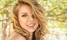 Haircut-and-Color Packages or Blowout at Sea Breeze Salon (Up to 61% Off). Three Options Available.